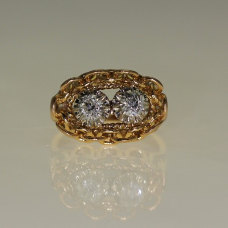 Bague diamants 1960.