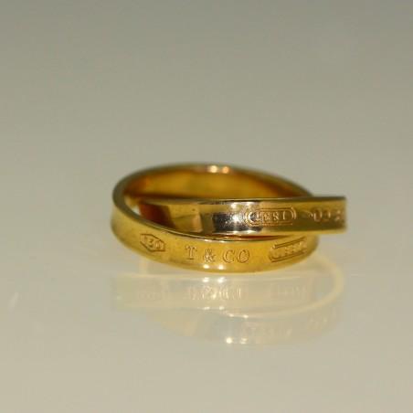 Double anneaux Tiffany&Co