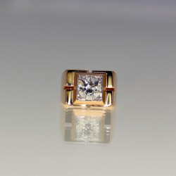 Bague diamants 1950