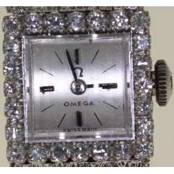 Montre Omega  diamants 1970