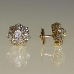 Clous d'oreilles diamants 190-1910